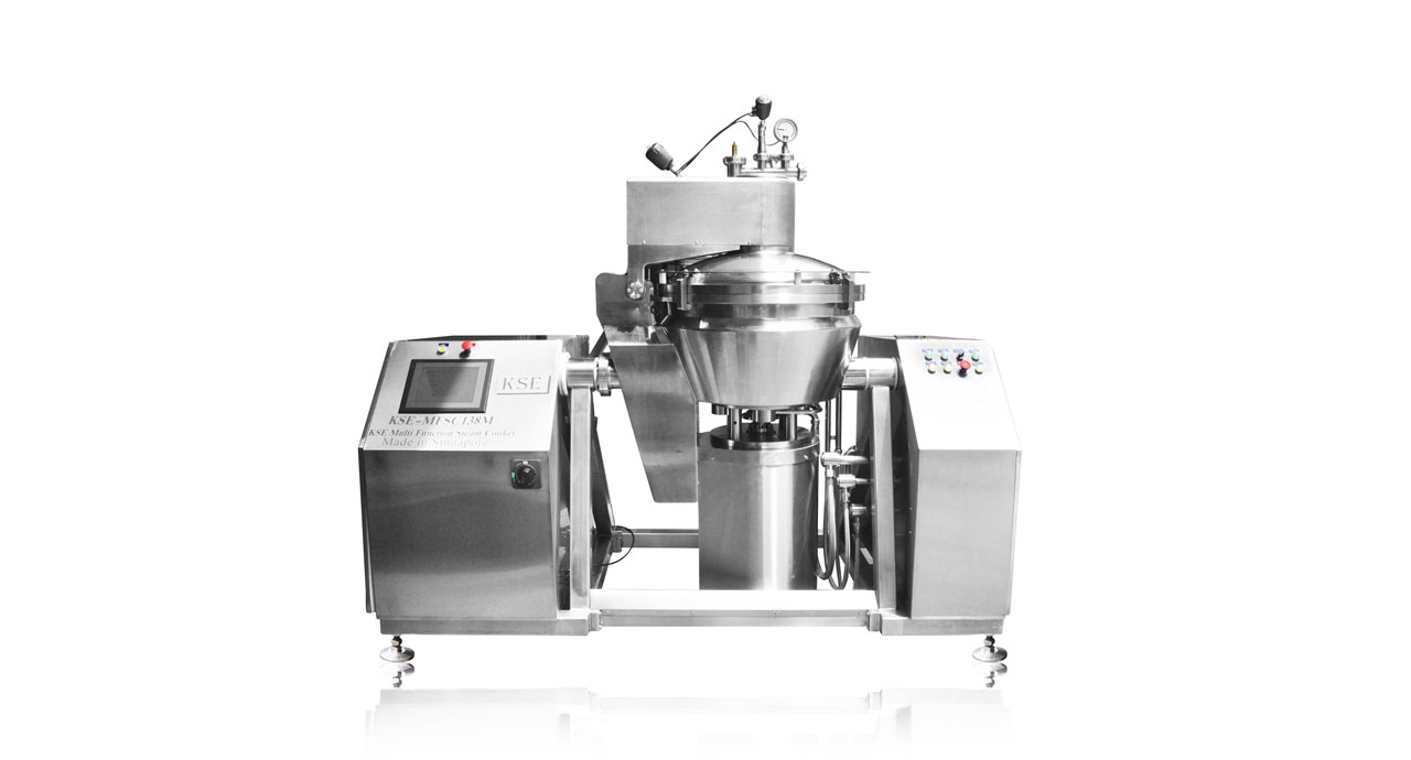 Multi Function Steam Cooker (138M) - Process your product with steam and vacuum technology.