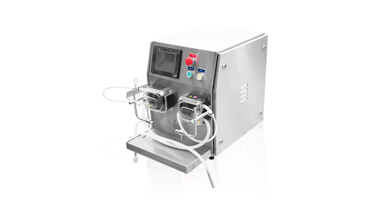 Servo Hose Pump - Sanitary, hygiene filling machine with high accuracy.