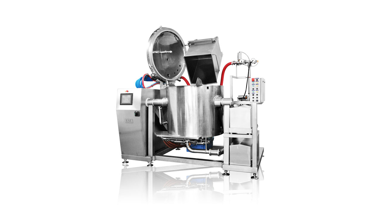 Multi Function Steam Cooker (408M) - Process your product with steam and vacuum technology.