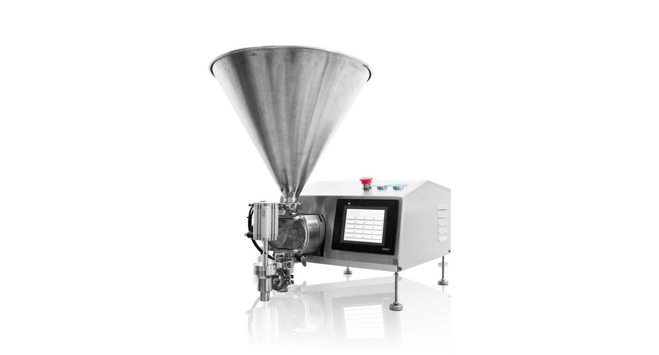 Servo Pump Filler (mobile) - Unlimited and precise filling machine.