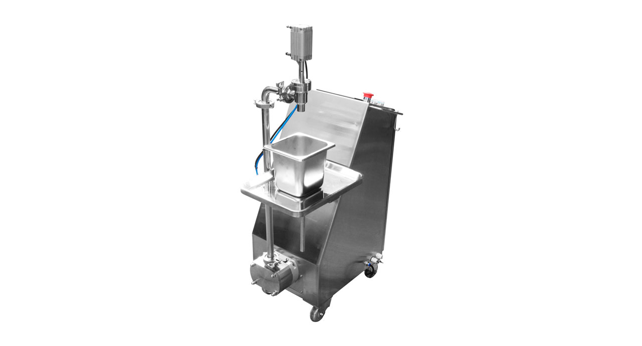 Servo Pump Filler (mobile) - Unlimited and precise filling machine.