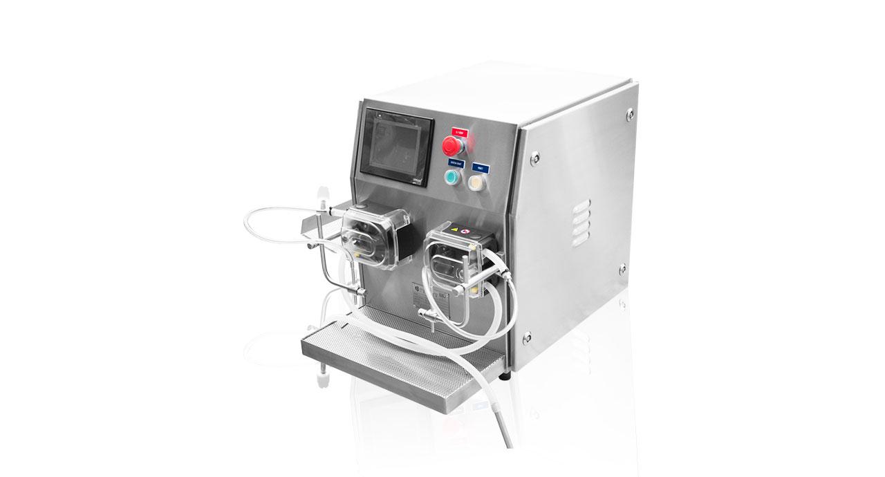 Servo Hose Pump - Sanitary, hygiene filling machine with high accuracy.
