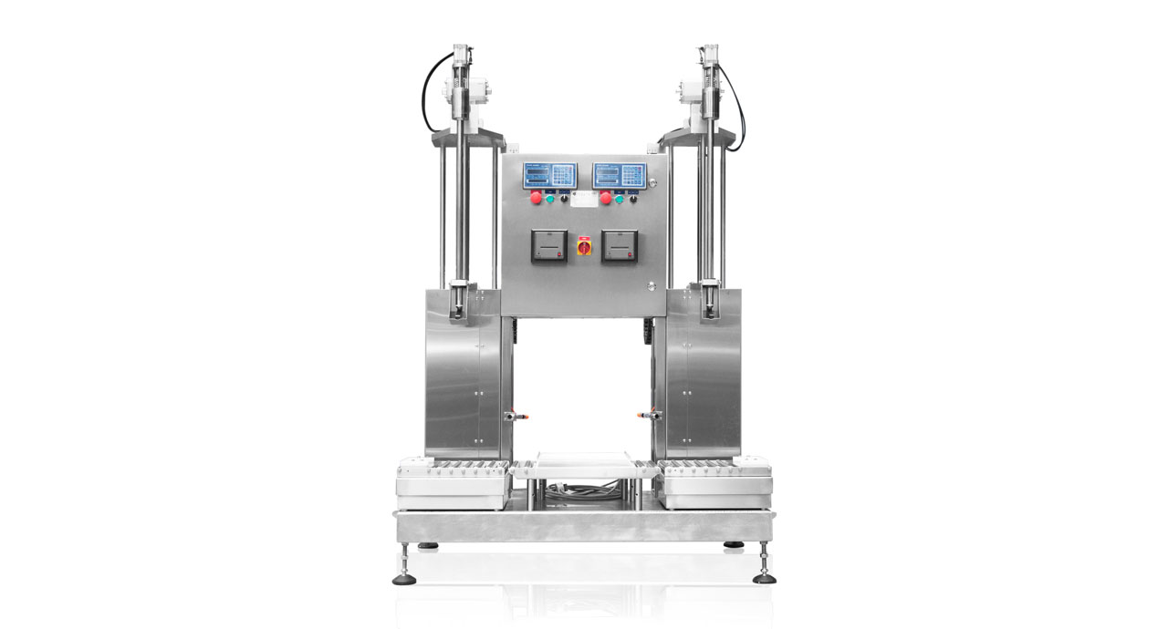 Weight Filler - Filling by weight machine for drum, tin or pail.
